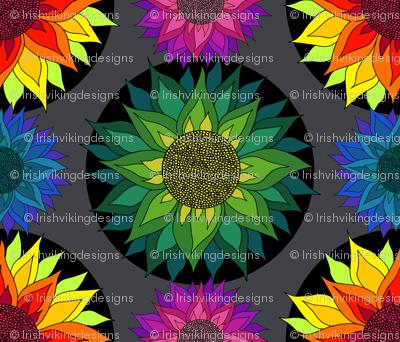 Sunflower Mandalas