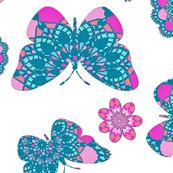 Lace Butterfly Garden