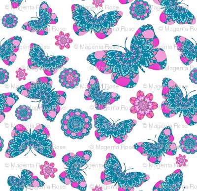 Bohemian Lace Butterfly Garden