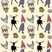 Over the Garden Wall Tossed