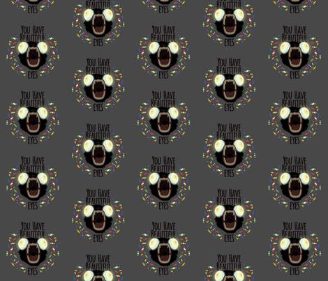 OTGW Beautiful Eyes fabric by nerdfabrics on Spoonflower - custom fabric