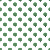 Forest Trees Repeat pattern - Alain Gree