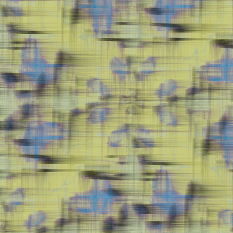 Spring Daub (Yellow) fabric by david_kent_collections on Spoonflower - custom fabric