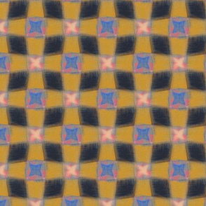 Cheshire Check (Yellow Small Scale)