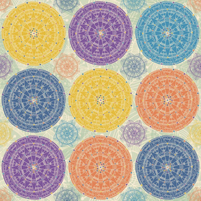 Layered Mandalas