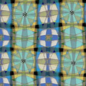 Cheshire Plaid (Blue Saturated)
