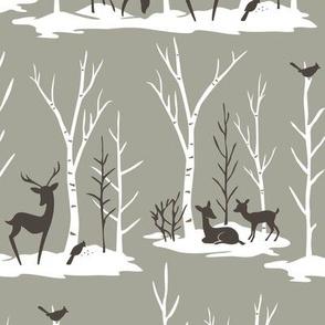 Birch Woods: Putty