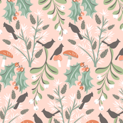 Topiary Icons: Pink