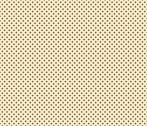 Brown star fabric by edjeanette on Spoonflower - custom fabric
