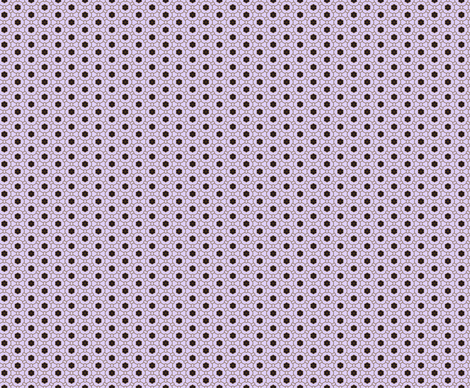 Purple Fleur fabric by edjeanette on Spoonflower - custom fabric