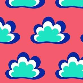 Happy Clouds on Peony