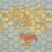 Hexagon Impression of Signac