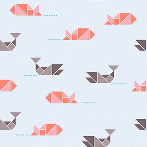 Tangram Fishes