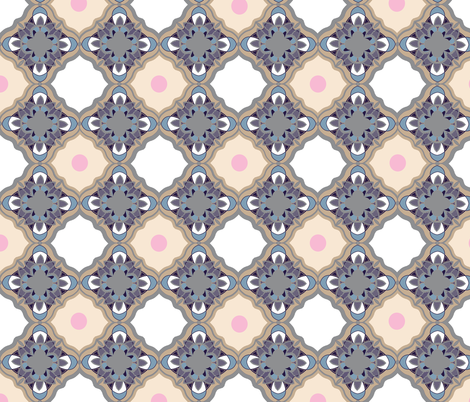 tile work  fabric by summ on Spoonflower - custom fabric