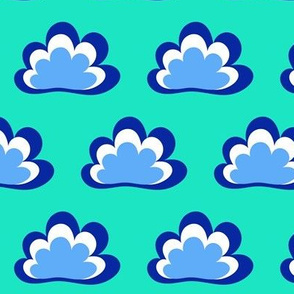Happy Clouds on Mint