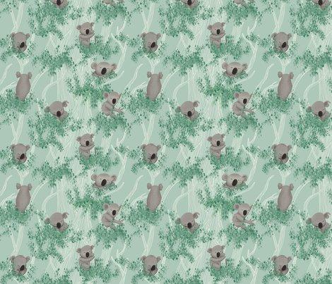 Koalas_pattern_met_blaadjes_-_150dpi_21cm-w_shop_preview