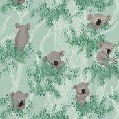Koalas_pattern_met_blaadjes_-_150dpi_21cm-w_shop_thumb
