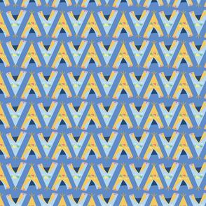 Wigwam, blue