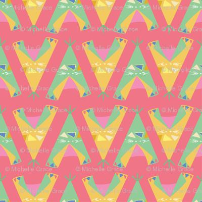 Wigwam, coral
