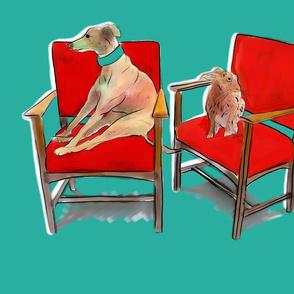 greyhoundnharedoneSPOONFLOWER