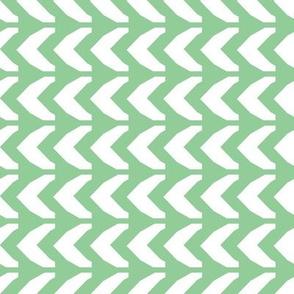 Chevron, green