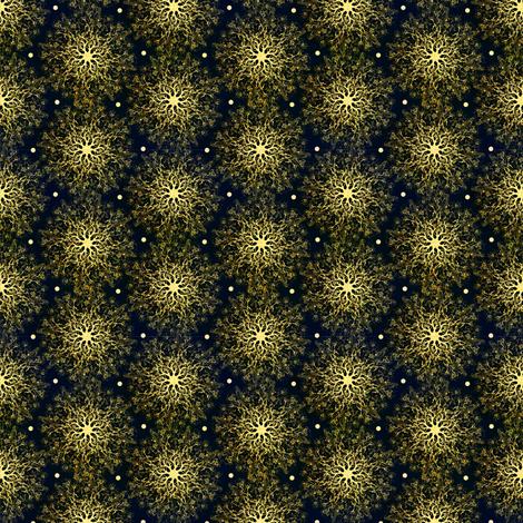 Mandala Sparklers fabric by hollybender on Spoonflower - custom fabric