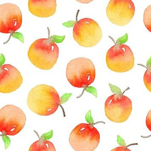 Watercolor Apples - 2