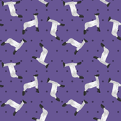 Polka Dot Lamb - Purple