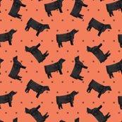 Rpolka_dot_steers_-_black_-_coral_shop_thumb