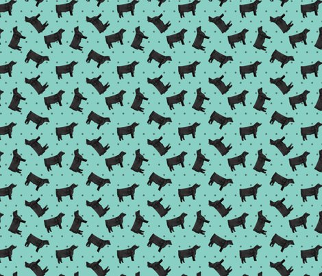 Rpolka_dot_steers_-_black_-_teal_shop_preview