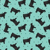 Rpolka_dot_steers_-_black_-_teal_shop_thumb