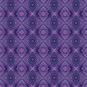 Purple Diamond Brocade