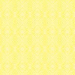 PLY - Pastel Yellow Diamond Brocade