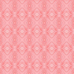 LPC - Pink Coral Diamond Brocade