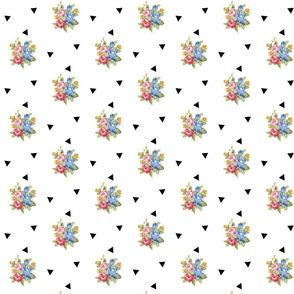 triangle rose-medium