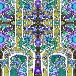 Blue Kitty Rain Forest Hide and Seek