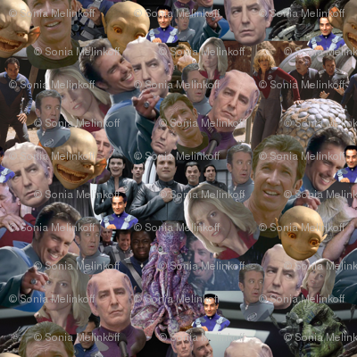 Galaxy Quest Packed Characters