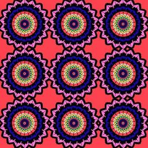 Coral Mandala