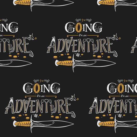 Hobbit Adventure fabric by nerdfabrics on Spoonflower - custom fabric