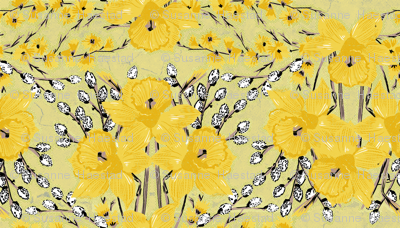yellow daffodils small size
