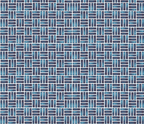 blue watercolour rectangles fabric by elena_o'neill_illustration_ on Spoonflower - custom fabric