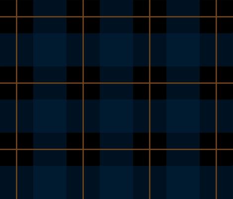 Plaid_Blue fabric by porshawebb on Spoonflower - custom fabric