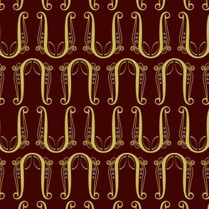 Pattern Lyre - Red