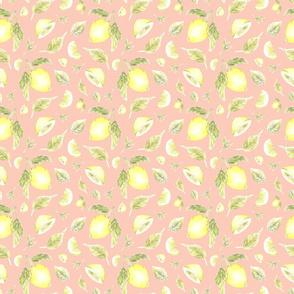 Lemon and Mint Pattern - Southern Charm