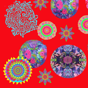Mandalas red