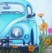 43_d_Beatle_Blue_with_flowers