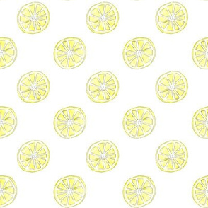 Citrus + Lemon  + Yellow +Polka Dots