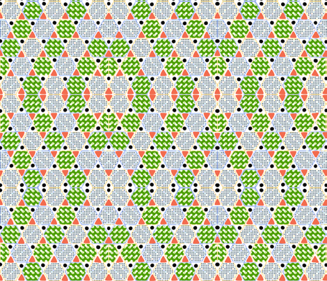 SPRING_HEXAGONS fabric by soobloo on Spoonflower - custom fabric