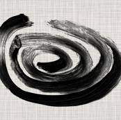 Black and White Tea Towel Lima