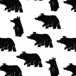 Bears on walk